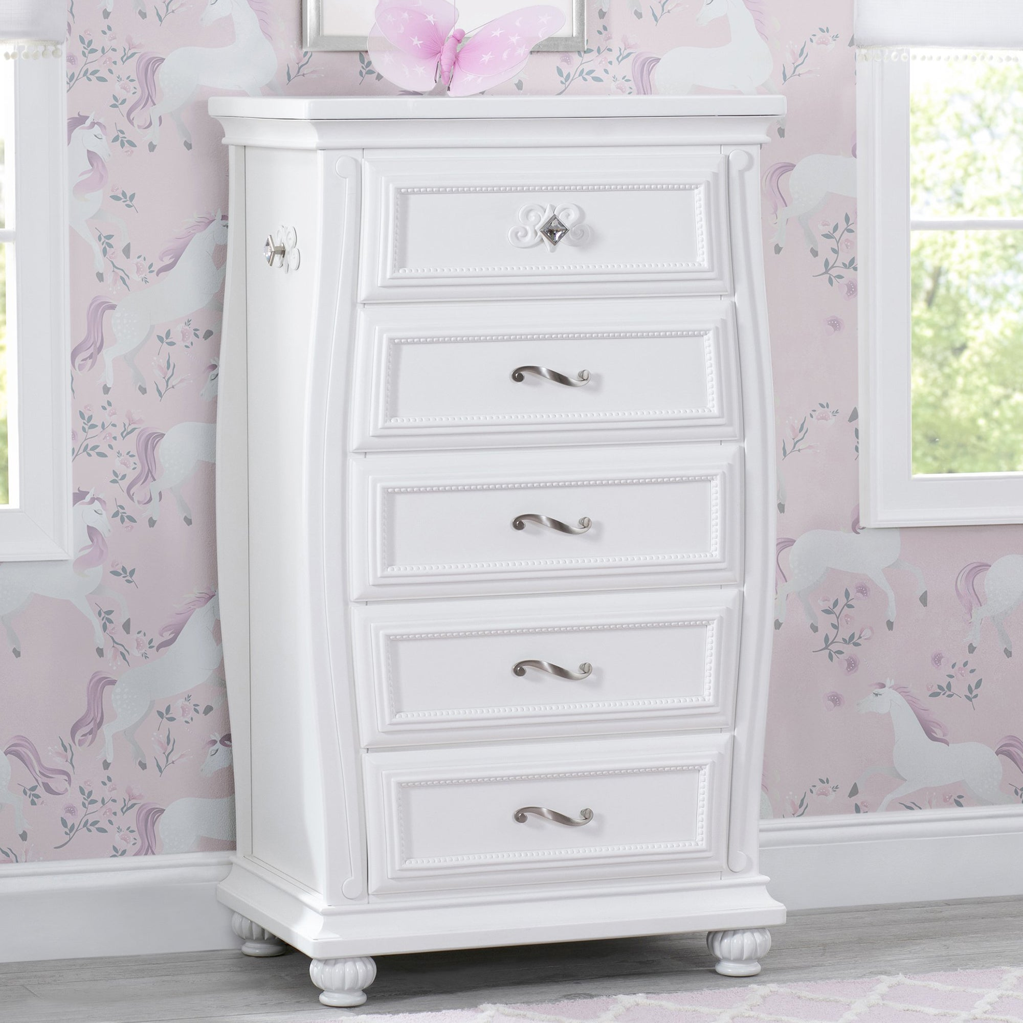 Fairytale 5 Drawer Chest