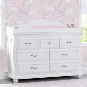 Fairytale 7 Drawer Dresser with Changing Top