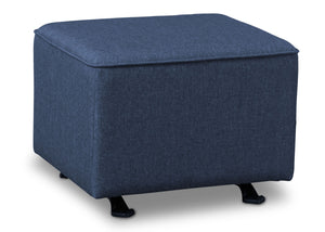 Delta Children Sailor Blue (424) Reston Nursery Gliding Ottoman (W501320), Right Angle, a2a