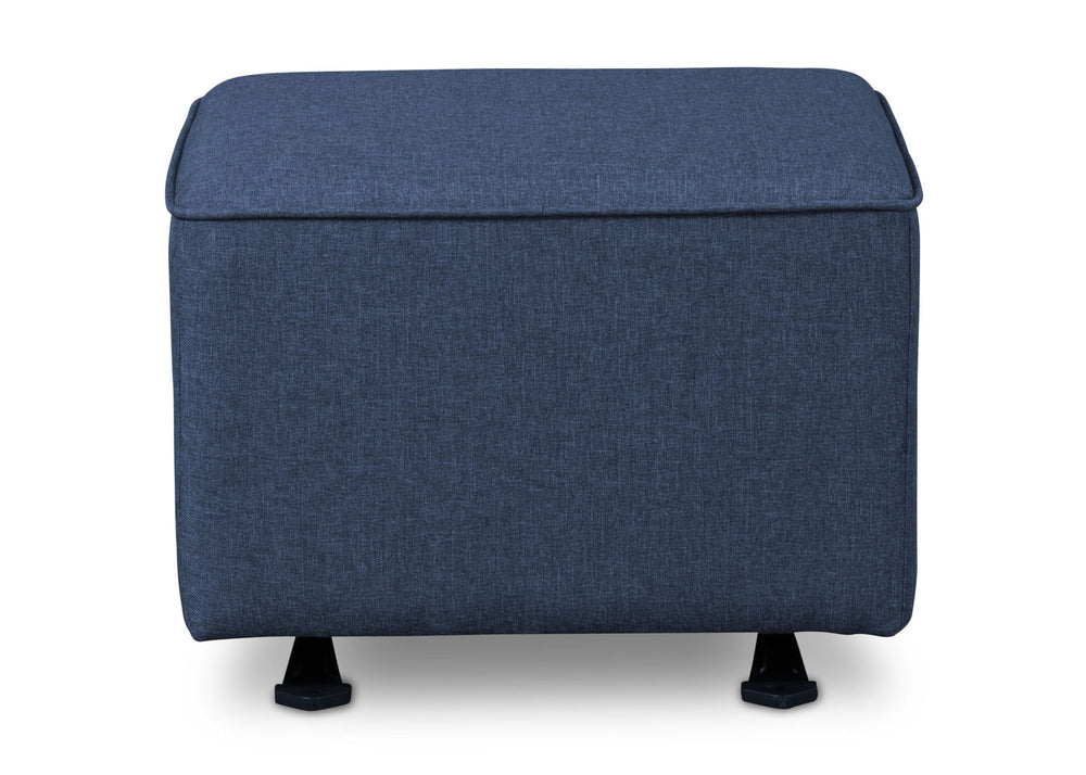 Delta Children Sailor Blue (424) Reston Nursery Gliding Ottoman (W501320), Straight, a3a