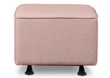 Delta Children Blush (636) Reston Nursery Gliding Ottoman (W501320), Straight, b3b