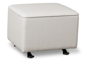 Delta Children Cream (743) Reston Nursery Gliding Ottoman (W501320), Right Angle, d2d