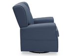 Delta Children Sailor Blue (424) Reston Nursery Glider Swivel Rocker Chair (W512310), Right Side, a4a