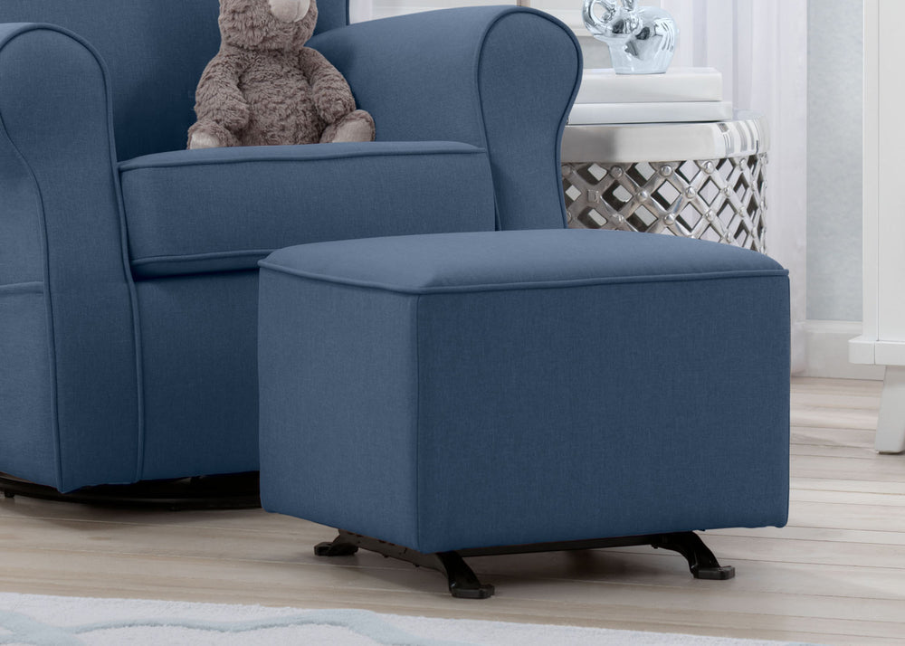 Sensational Reston Nursery Gliding Ottoman Delta Children Gmtry Best Dining Table And Chair Ideas Images Gmtryco
