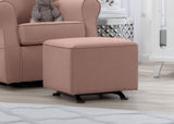 Delta Children Blush (636) Reston Nursery Gliding Ottoman (W501320), Room, b1b