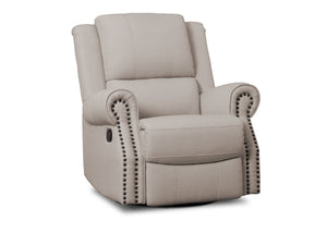 Delta Children Flax (710) Dylan Nursery Recliner Glider Swivel Chair (W1524310C), Right View, b2b