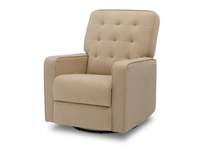 Delta Children Sisal (727) Graham Nursery Glider Swivel Recliner, Left Silo View