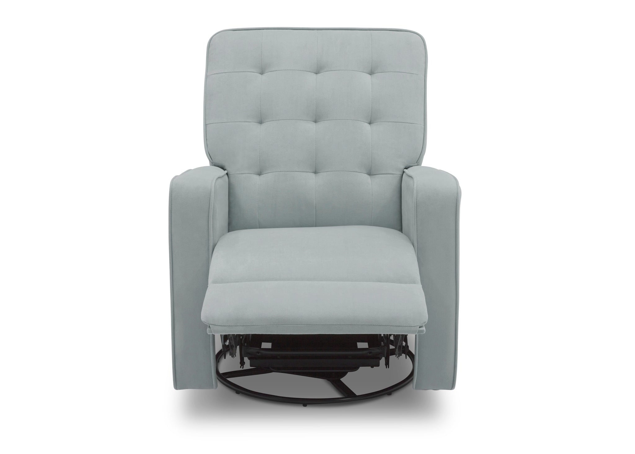Delta Home Mist (934) Grant Glider Swivel Recliner, Front Reclined Silo View