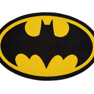 Delta Children Batman (1200) Soft Area Rug with Non-Slip Backing (TR80048BT), Silo, a2a