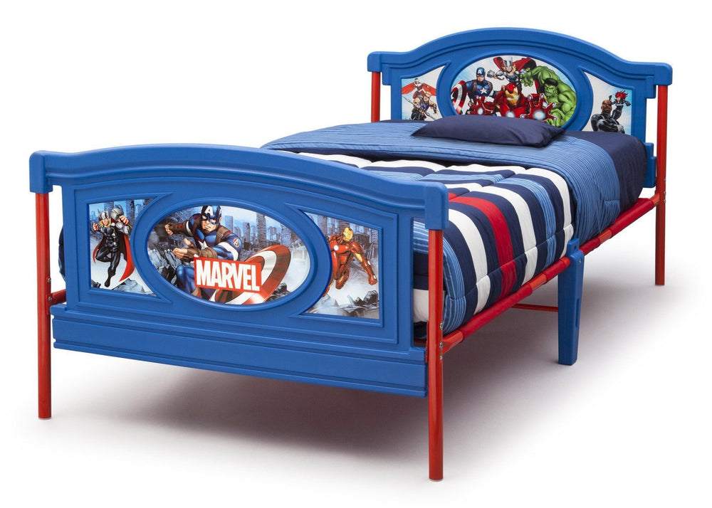 Delta Children Avengers Twin Bed Style 1, Left View a2a