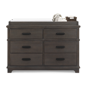Asher 6 Drawer Dresser with Changing Top