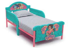 Delta Children Disney Elena of Avalor - 3D Toddler Bed Right View a2a