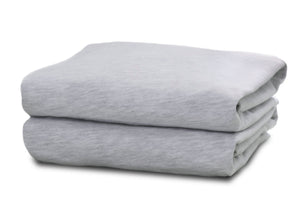 Delta Children Heather Grey (053) Changing Pad Covers – 2 Pack Changing Pad Folded View