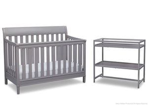 Delta Children Grey (026) Harbor 2 Piece Room-in-a-Box a2a