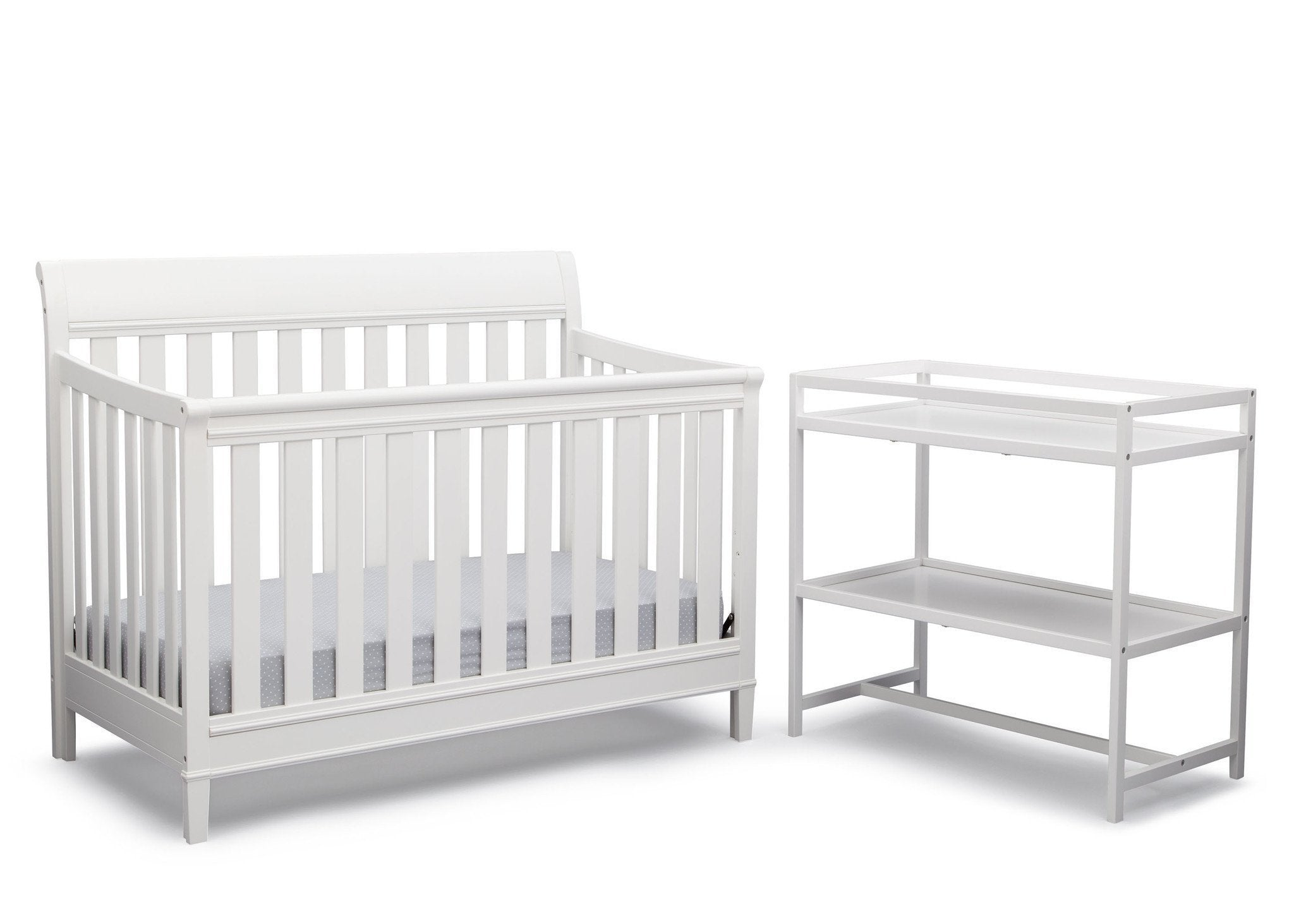 Delta Children White (100) Harbor 2 Piece Room-in-a-Box b2b