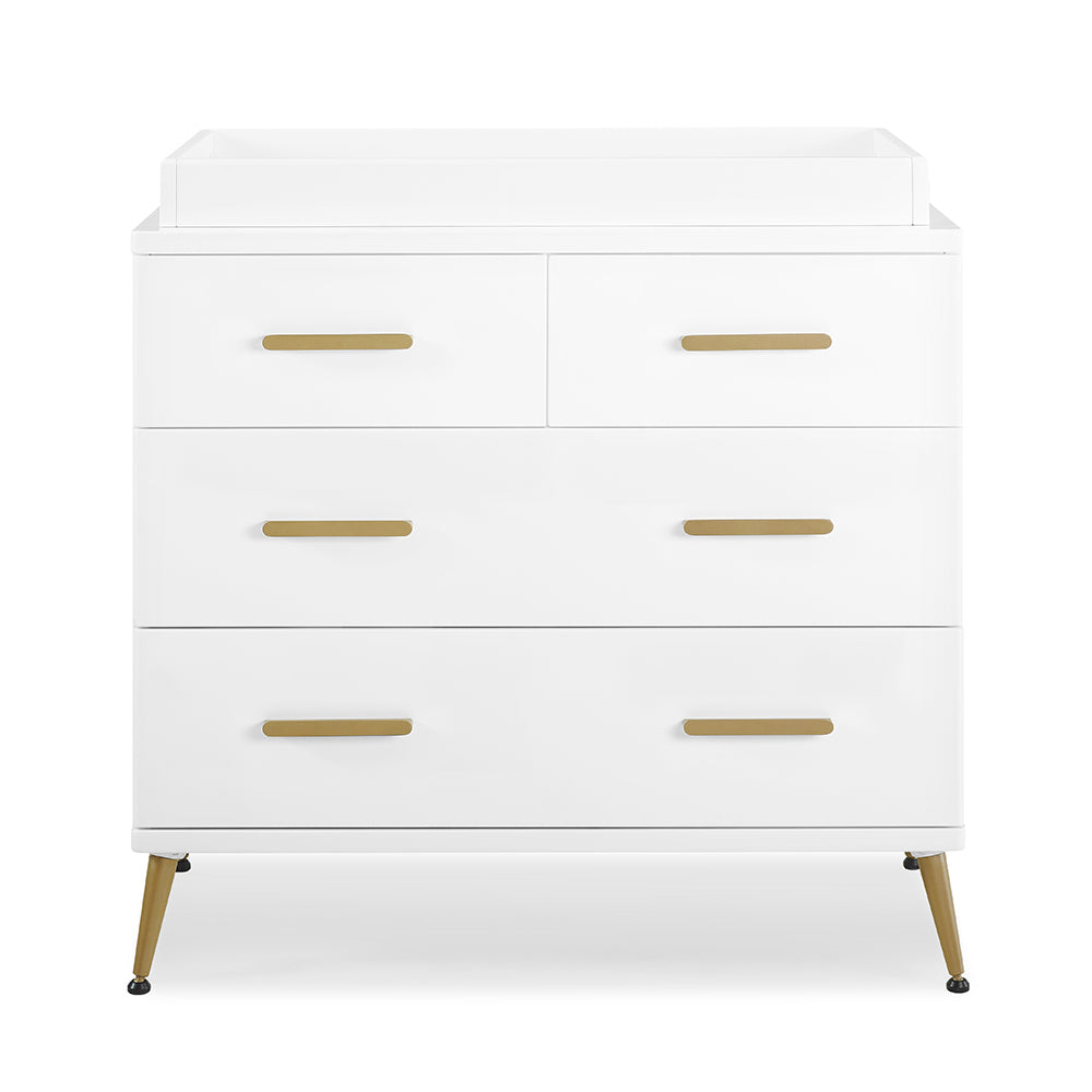 Sloane 4 Drawer Dresser with Changing Top