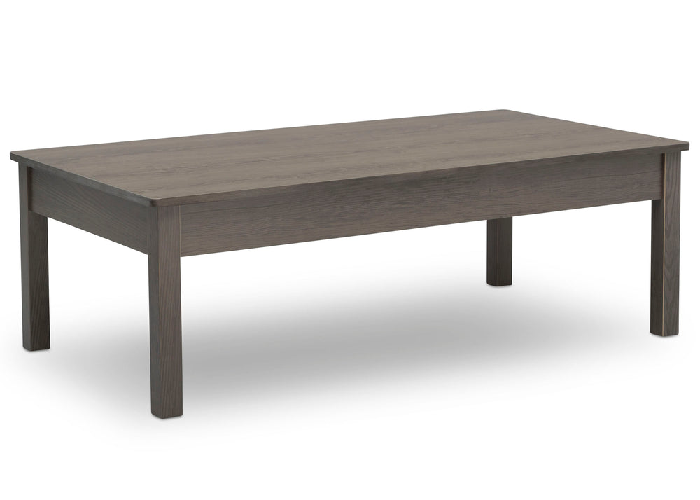 Delta Children Crafted Grey (1333) Grow-With-Me Table (W101301), Right Facing Silo, c1c