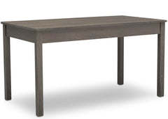 Delta Children Crafted Grey (1333) Grow-With-Me Table (W101301), Taller Right Facing Silo, c2c