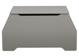 Delta Children Grey (026) Nolan Toybox (W101450), Front View, a4a