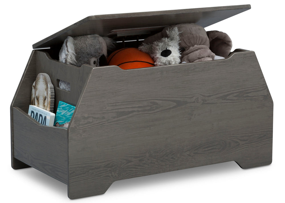 Delta Children Crafted Grey (1333) Nolan Toybox (W101450), Right Silo with Props, c3c