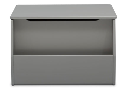 Delta Children Grey (026) Nolan Toybox (W101451), Front Facing, a4a