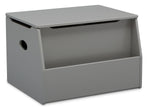 Delta Children Grey (026) Nolan Toybox (W101451), Right Silo, a2a