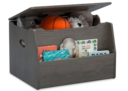 Delta Children Crafted Grey (1333) Nolan Toybox (W101451), Right Silo with Props c3c