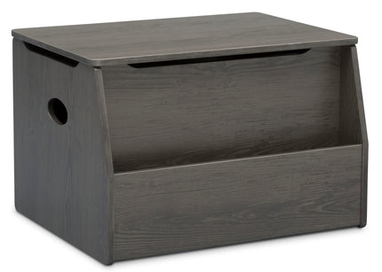 Delta Children Crafted Grey (1333) Nolan Toybox (W101451), Right Silo, c2c
