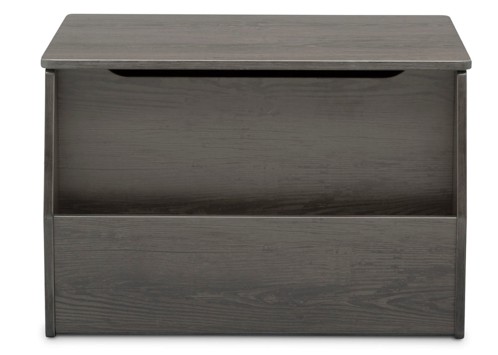 Delta Children Crafted Grey (1333) Nolan Toybox (W101451), Front Facing, c4c