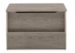 Delta Children Crafted Limestone (1334) Nolan Toybox (W101451), Front facing, d4d