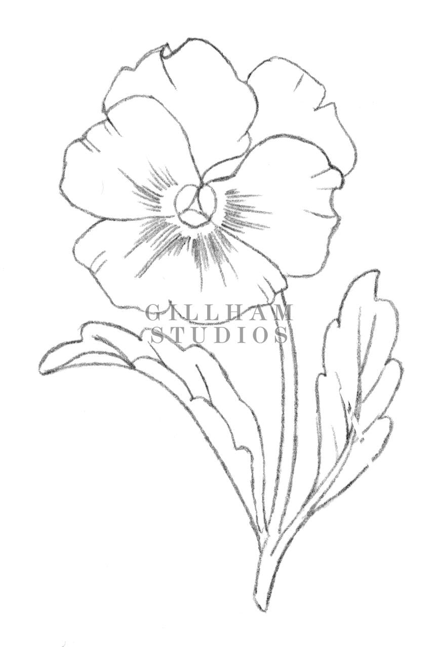 Single Line Drawing Flowers : The gallery for gt single flower drawing
