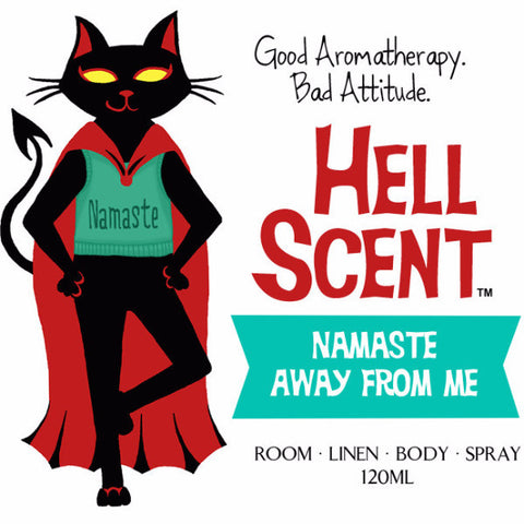 Namaste Away From Me - Yoga Mat Spray