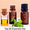 Top 20 Single Essential Oils - 10ml Bottle