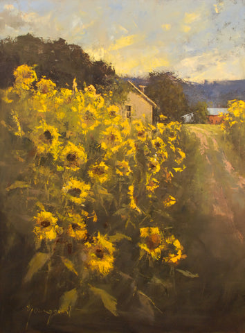 "Romona Youngquist ""Sunflower Sunset"""