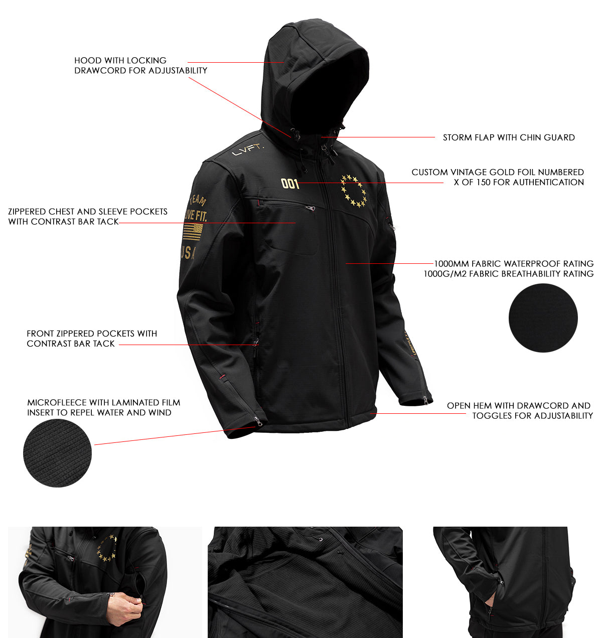 Gold Edition Athlete Jacket 3.0