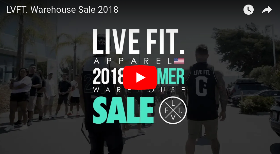 2018 Summer Warehouse Sale