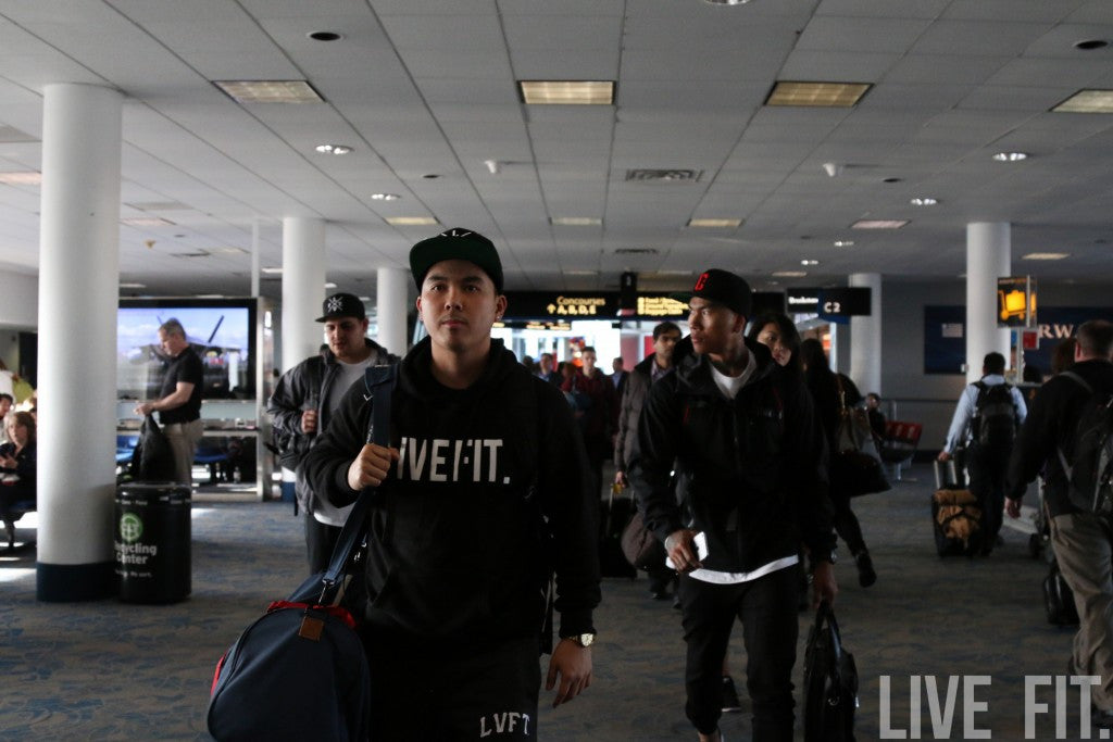 The Live Fit Team Lands In Columbus, Ohio.