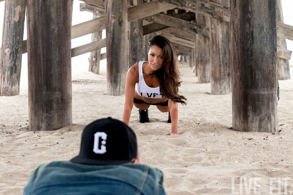 Alex Zerega Photoshoot At The Beach.