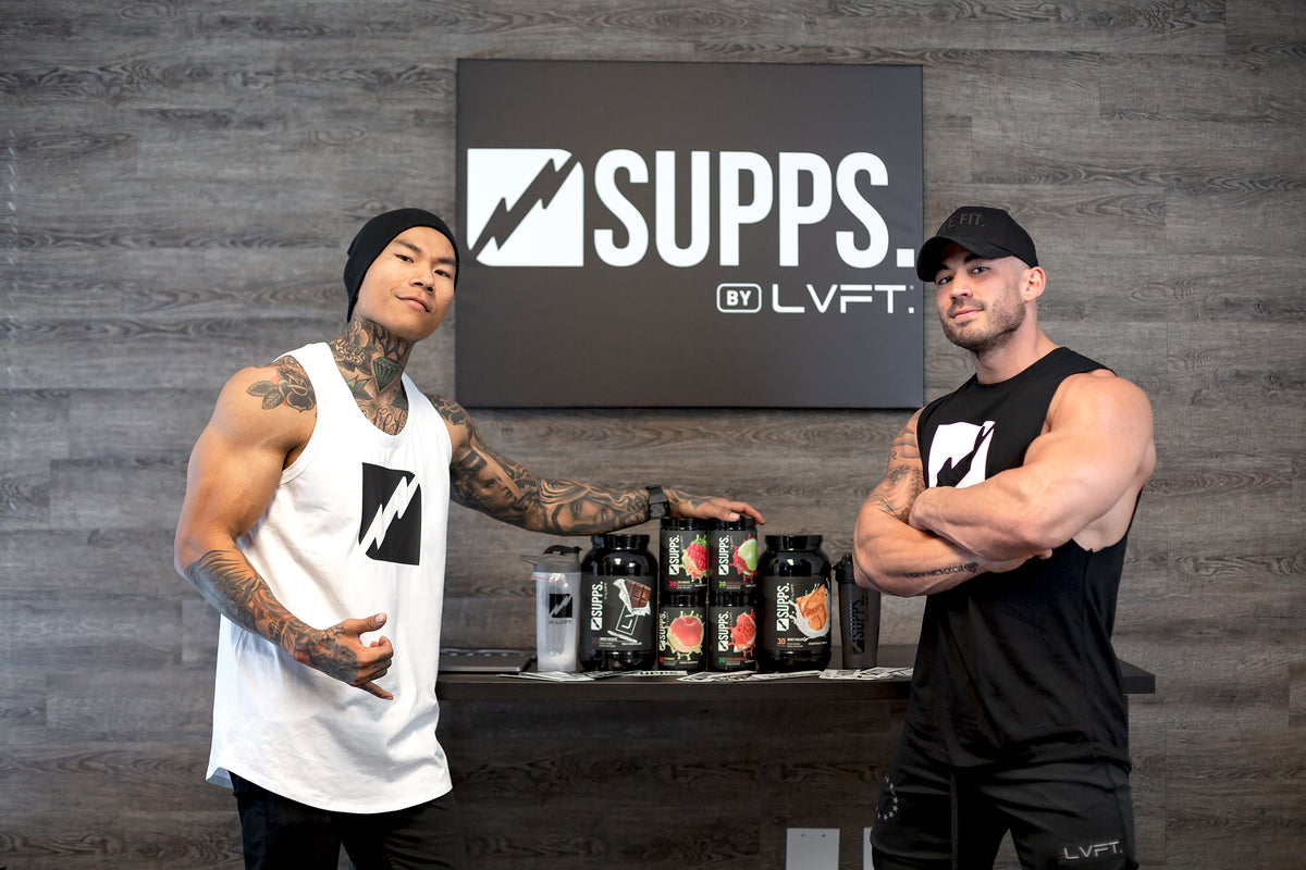 LIVE AT YOUR BEST | Introducing LVFT. SUPPS