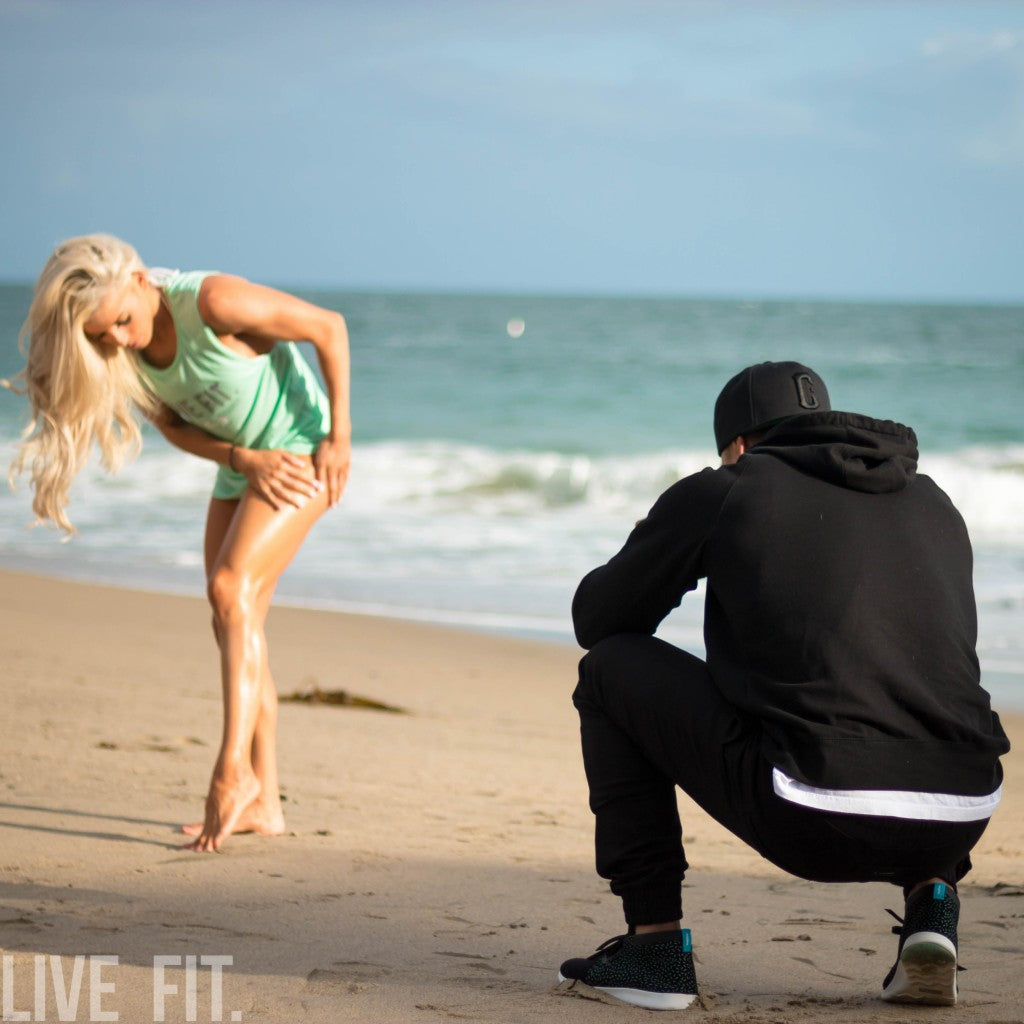 CEO Randall Pich caught  behind the scenes with Heidi Somers