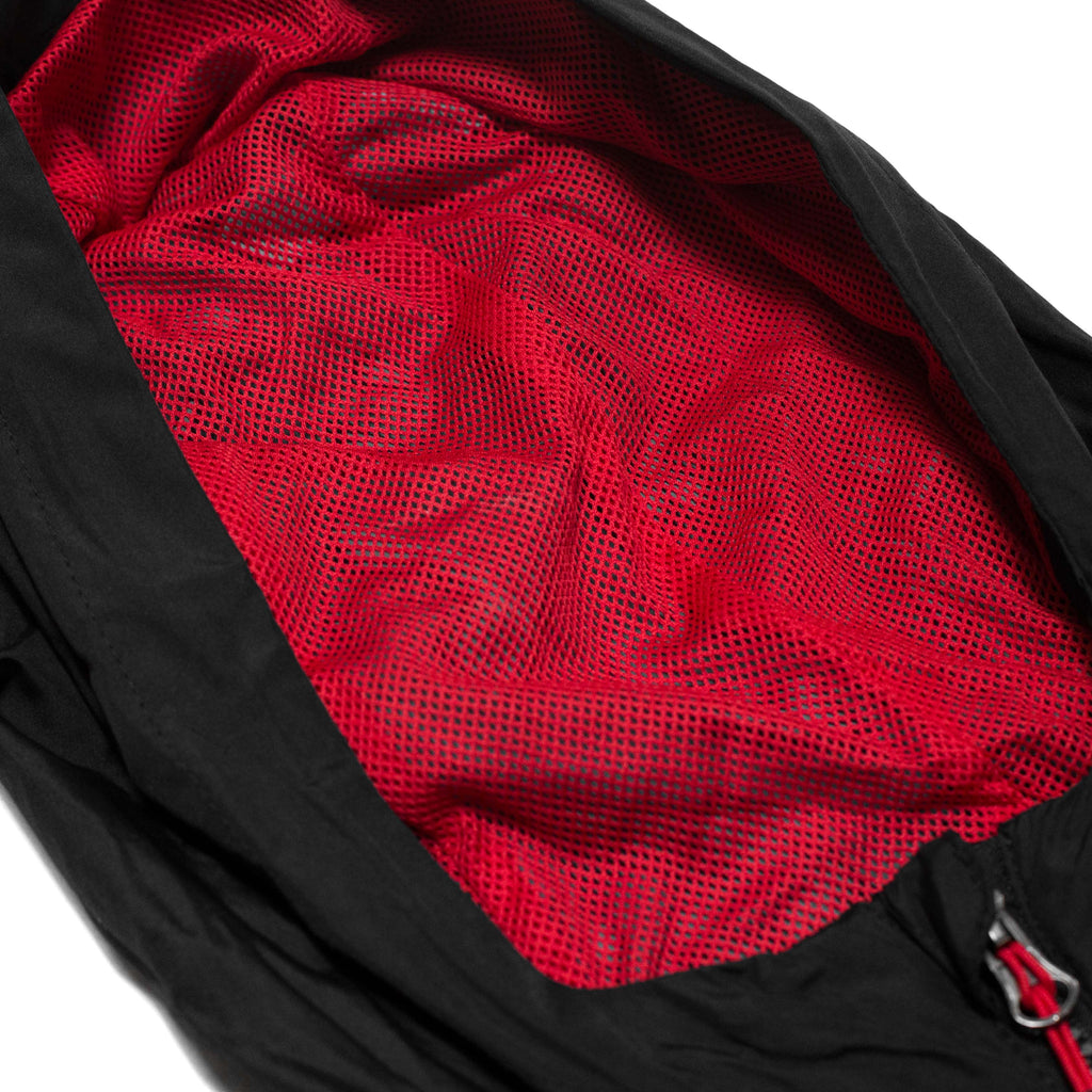 Live Fit Apparel Icon Anorak Jacket- Black/Red - LVFT