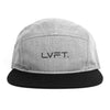 Original 5 panel Cap - Grey / Black