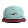 Original 5 panel Cap - Blue / Maroon