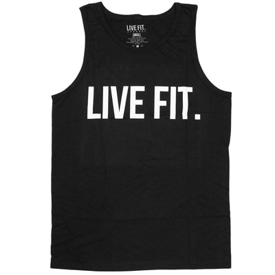 Live Fit Apparel Live Fit Original Tank - Black - LVFT