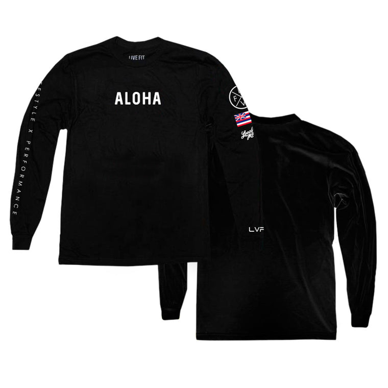Aloha Lifestyle Long Sleeve - Black