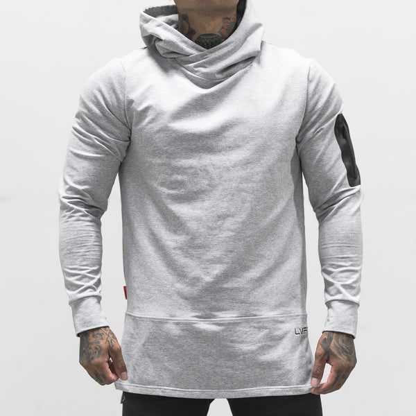 Assassin Hoodie- Heather Grey