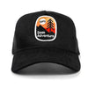 Wilderness Trucker Cap - Black