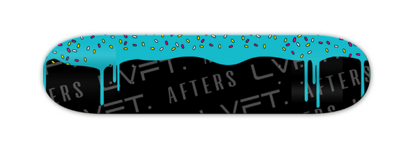 LVFT X AFTERS SKATE DECK