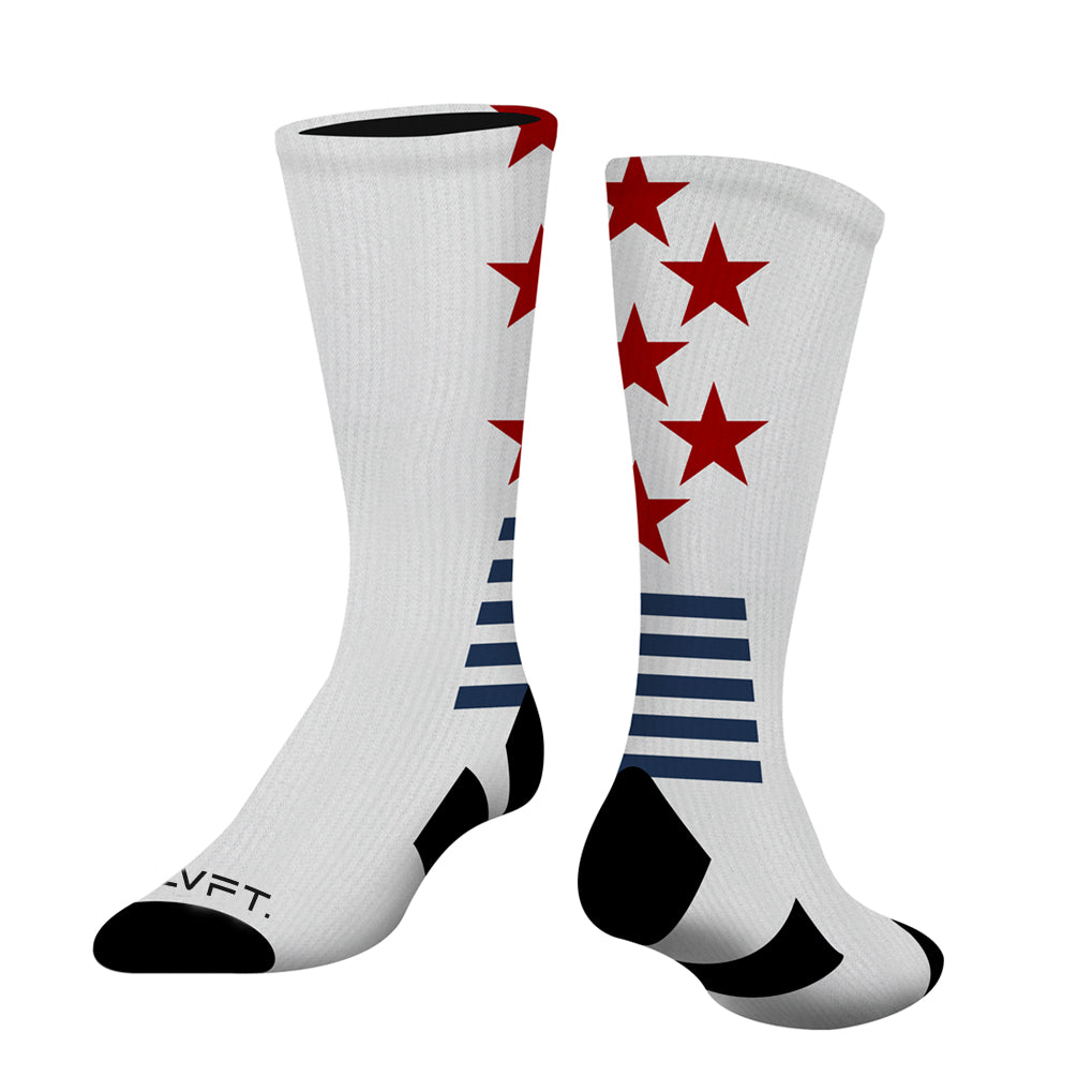 All-Star Crew Socks - White