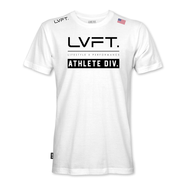 Athlete Division Tee - White